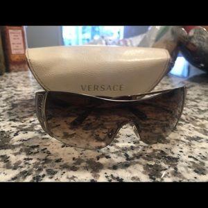 Versace authentic Gradient brown sunglasses